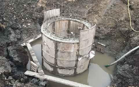 Wani Infratech pvt. Ltd. Sewage & Drainage System project